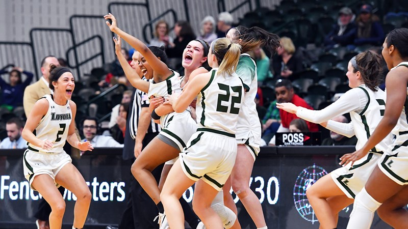 Women's Basketball Leads From Start-to-Finish, Upsets Bucknell on WISD